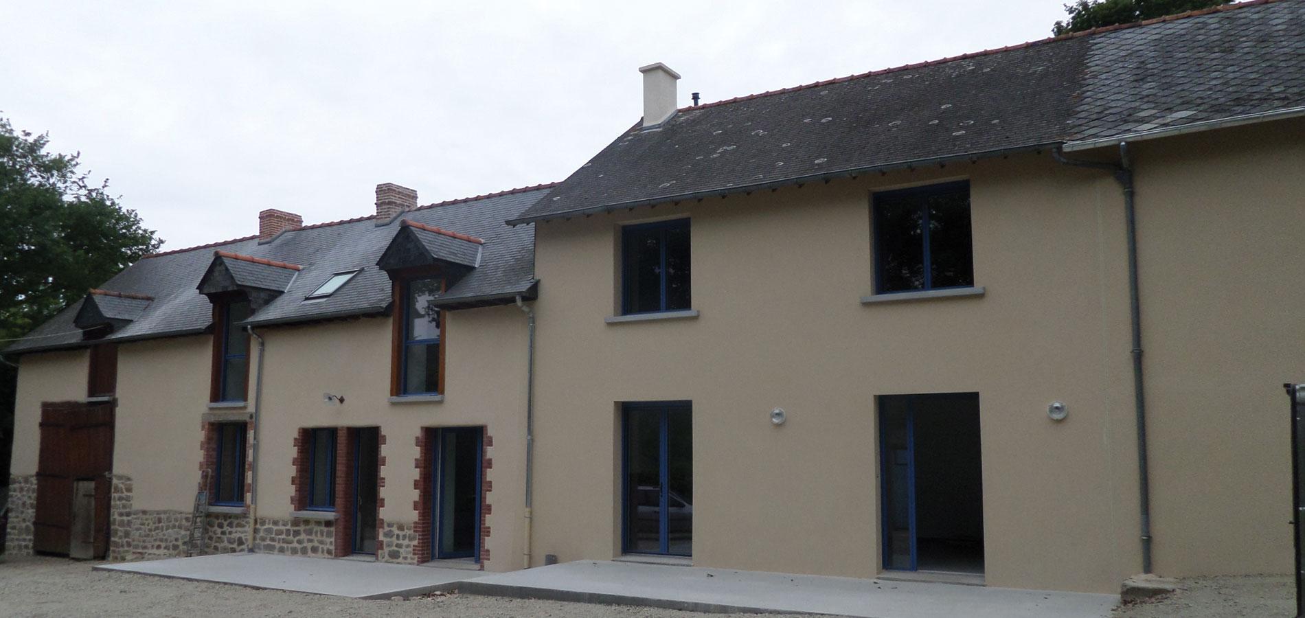 """Jouanny Architecte Rénovation """"La Loirie Marchand"""""""