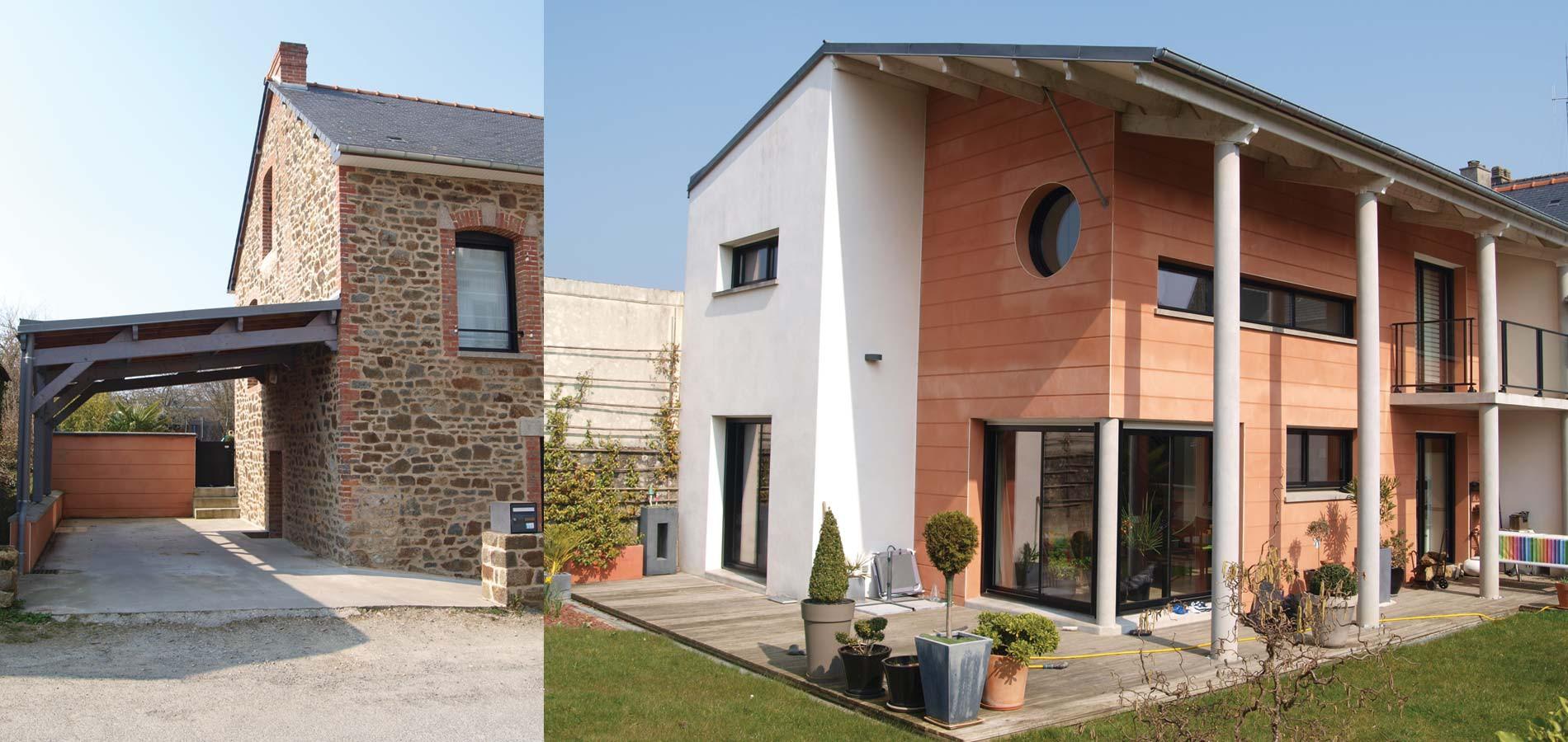Extension maison bruno jouanny architecte for Extension maison 1900