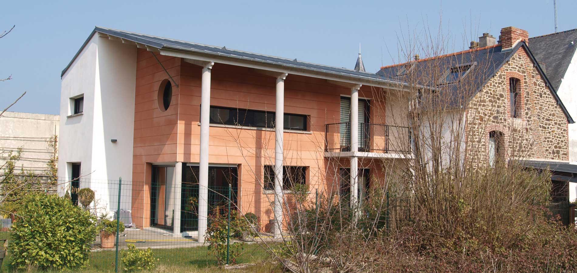 """Jouanny Architecte Extension """"Maison Durand"""". Tinténiac"""