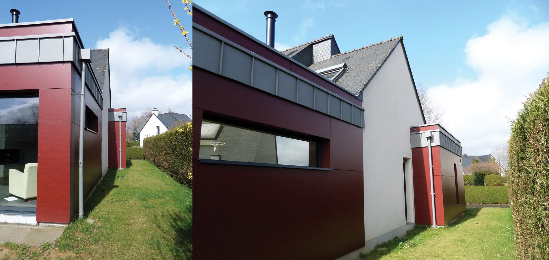 Saint gr goire extension bruno jouanny architecte for Extension maison 1900