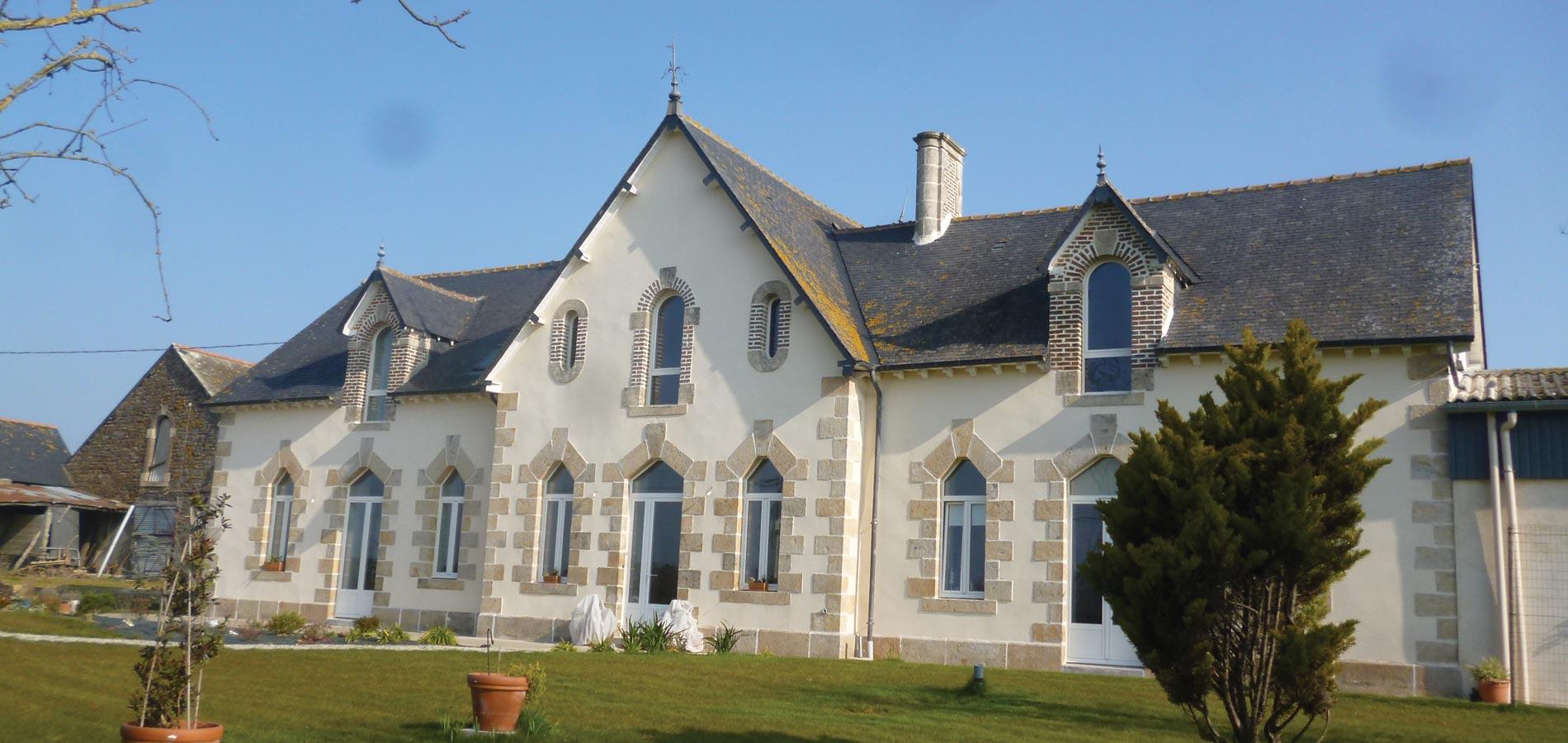 """Jouanny Architecte Rénovation """"La Métairie"""". Ille-et-Vilaine"""